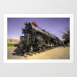 Santa Fe Steam  Art Print