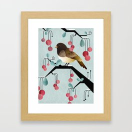 Bird, Watching Framed Art Print