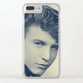 Bobby Rydell Clear iPhone Case