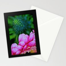 Seduction in a garden Stationery Cards
