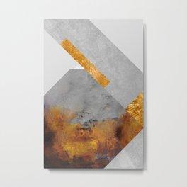 Modern Mountain No6-P1 Metal Print