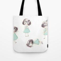 Funny child Tote Bag