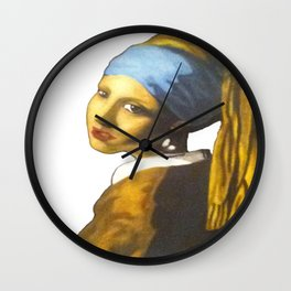 Girl with the Pearl Earring Wall Clock