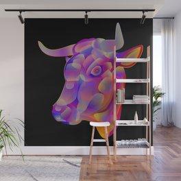 """""""Determination"""", digital animal art illustration Wall Mural"""