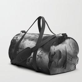 Textured Topless Duffle Bag