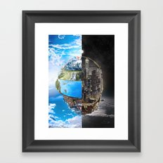 Daft Punk Tribute Framed Art Print