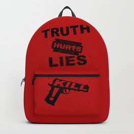 Truth Hurts - RED Backpack