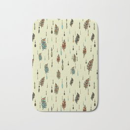 V36 BOHO ANTHROPOLOGIE STYLE PATTERN Bath Mat