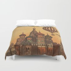Moving to Moscow Duvet Cover