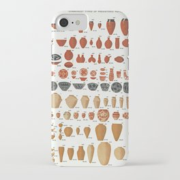 Petrie's Pottery Seriation iPhone Case