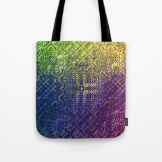 Textured Ombre Tote Bag