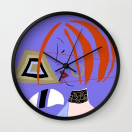 Japanese Profile Wall Clock
