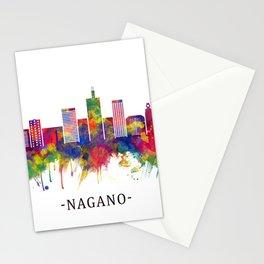 Nagano Japan Skyline Stationery Cards