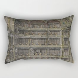 royal drury lane theatre Rectangular Pillow