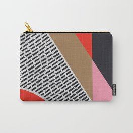 Pink Gold Red Abstract Carry-All Pouch