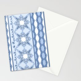 Kitty in a Blue Shoe Lace Stationery Cards
