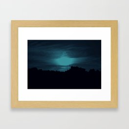 Day Is The New Night Framed Art Print