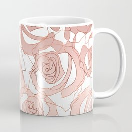 Pour The Rosé - Roses Gold Copper Coffee Mug