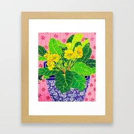 Primula Framed Art Print