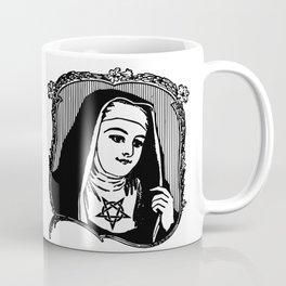 Catholic Demon   Nun   Wiccan nun   Wiccan Christian   Wiccan Catholic   Spirits   Pentagram   Gothi Coffee Mug