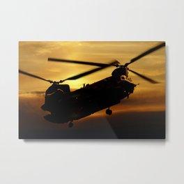 RAF Chinook Metal Print