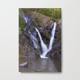Purple Waterfall Metal Print