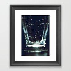 bubbly Framed Art Print