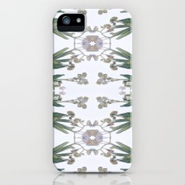 Forget Me Nots Study iPhone Case