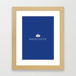 RAVEN CYCLE – excelsior Framed Art Print