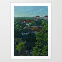 A view of Sarasota Art Print