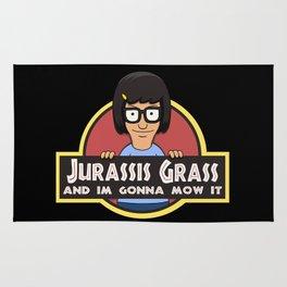 Jurassis Grass (Your ass is grass) Rug