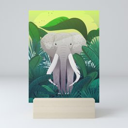 Elephant Jungle Sanctuary Mini Art Print