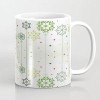 deco Mugs featuring Holidays Deco by Elena Indolfi