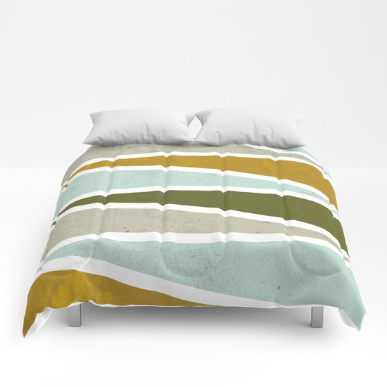 Modern print Comforters