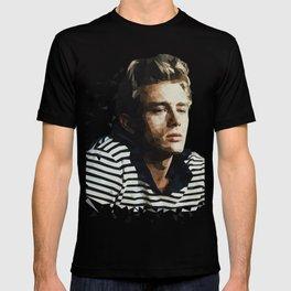 Pop Icon Dean James Portrait T-shirt