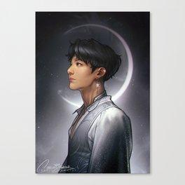 Lunar Jungkook Canvas Print