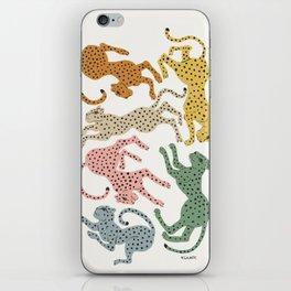 Rainbow Cheetah iPhone Skin