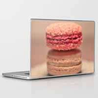 macaroons Laptop & iPad Skins featuring Coconut Macaroons by Serena Jones Photography