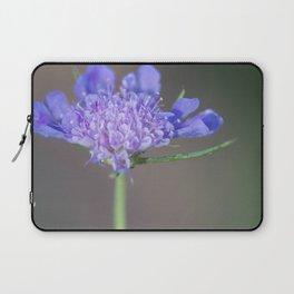 Purple wild flower Laptop Sleeve