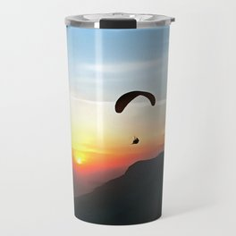 Sunset Paraglide Travel Mug