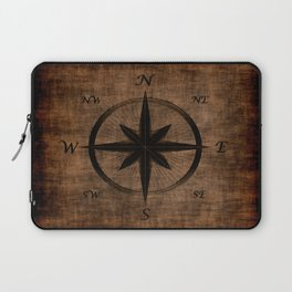 Nostalgic Old Compass Rose Laptop Sleeve