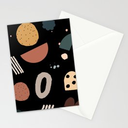 Geo Shapes Luxe Stationery Cards