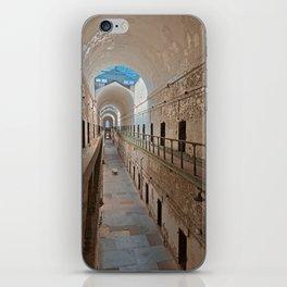 Abandoned Prison Corridor iPhone Skin