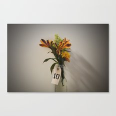 Lonely Flowers Canvas Print
