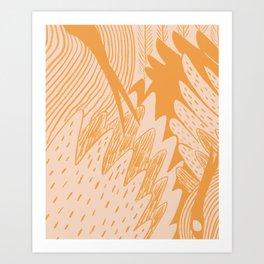 Flocka Art Print