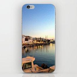 Ciutadella Harbor iPhone Skin