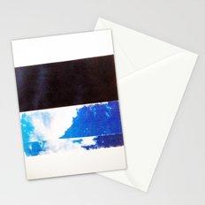 SKY/BLK Stationery Cards