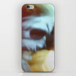Skull face iPhone Skin