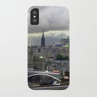 edinburgh iPhone & iPod Cases featuring Edinburgh. (II) by zenitt