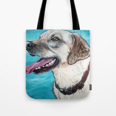 Yellow Lab Brody Tote Bag